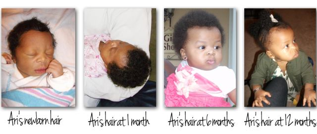 | African American Baby Hair Growth