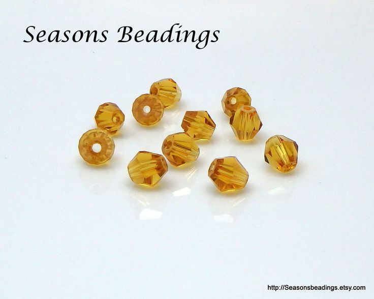 Excited to share the latest addition to my #etsy shop: 50 Transparent Light Brown 6mm Crystal Bicone Beads - Free Shipping to Canada http://etsy.me/2BctRjn #supplies #bicone #jewelrymaking #crystal #bead #crystalbead #homebusinessowner