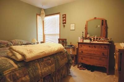"""Em's dark bedroom """"before"""" - love the colour, but it made the room look darker and smaller than it is"""