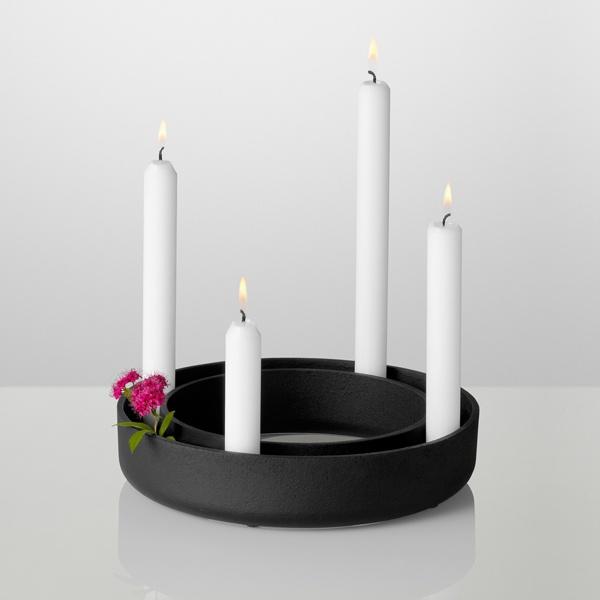 Candeliere Gloria, nero