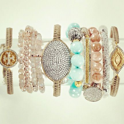 That's all so wonderful: Arm Candy, Southern Charms, Bracelets, Jewelry Accessories, Tory Burch, Wrist Candy, Bangles, Arm Parties, Bling Bling