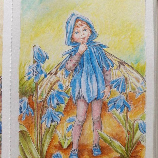 背景部分にのみ初めて水彩色鉛筆を使ってみました水彩色鉛筆、割といい感じかもこの絵は顔も少し大きめなので、以前のものより塗りやすかったと思います * #ぬりえ #ぬりえブック #おとなの塗り絵 #おとなのぬりえ #大人の塗り絵 #塗り絵本 #コロリアージュ #シシリーメアリーバーカー #庭の花の妖精 #水彩色鉛筆 #cicelymarybarker #flowerfairies #flowerfairy #colour #coloringbook #coloring #coloringbookforadults#colorful #coloriageantistress #coloriagepouradultes #coloriage #coloriages #coloriagepouradulte #coloriageadulte #secretgardencoloringbook #johannabasford #beautifulcoloring #adultcoloringbook #adultcoloring #adultcoloringbooks
