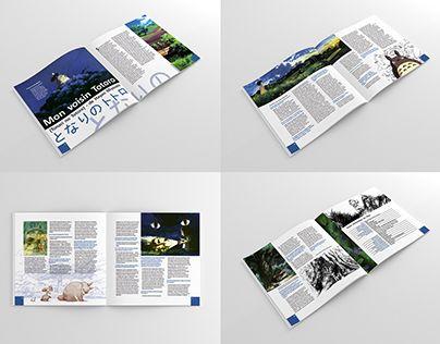 "Check out new work on my @Behance portfolio: ""Brochure Mon Voisin Totoro"" http://on.be.net/1HNYSFe"