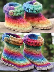 Colorfull booties