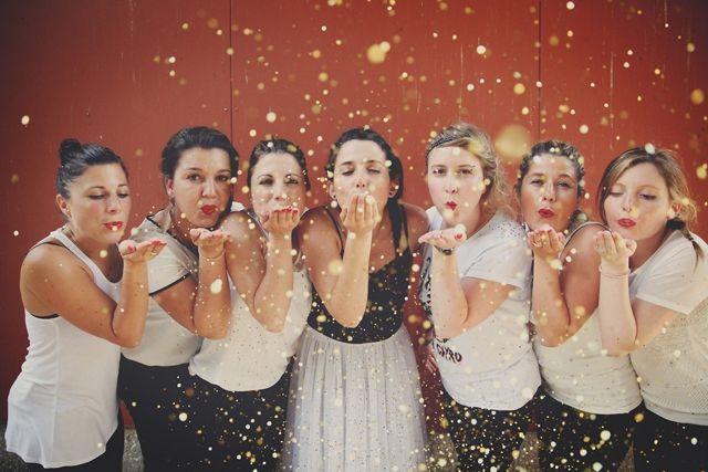 EVJF glitter idees - photo Laurence Revol pour Epouse-moi Cocotte - La Fiancee du Panda blog Mariage et Lifestyle