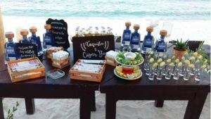 Tequila bar / Tequila station