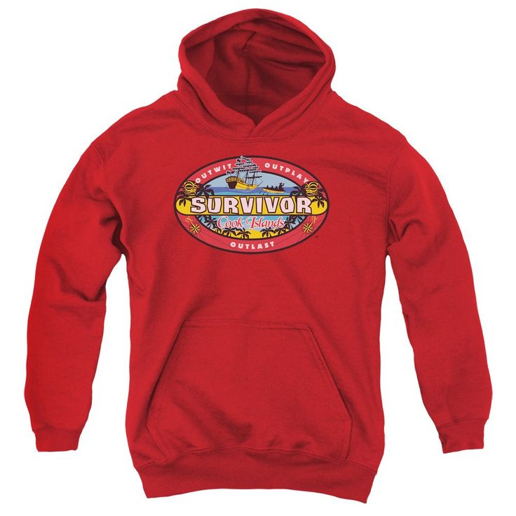 Survivor - Cook Islands Youth Pull-Over Hoodie