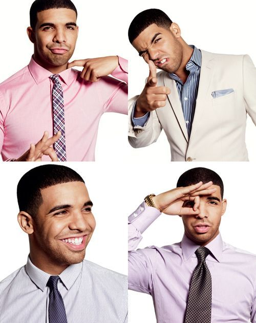 I don't think I'll ever see him as Drake. To me he's Aubrey Graham; a Canadian who played Jimmy on Degrassi.