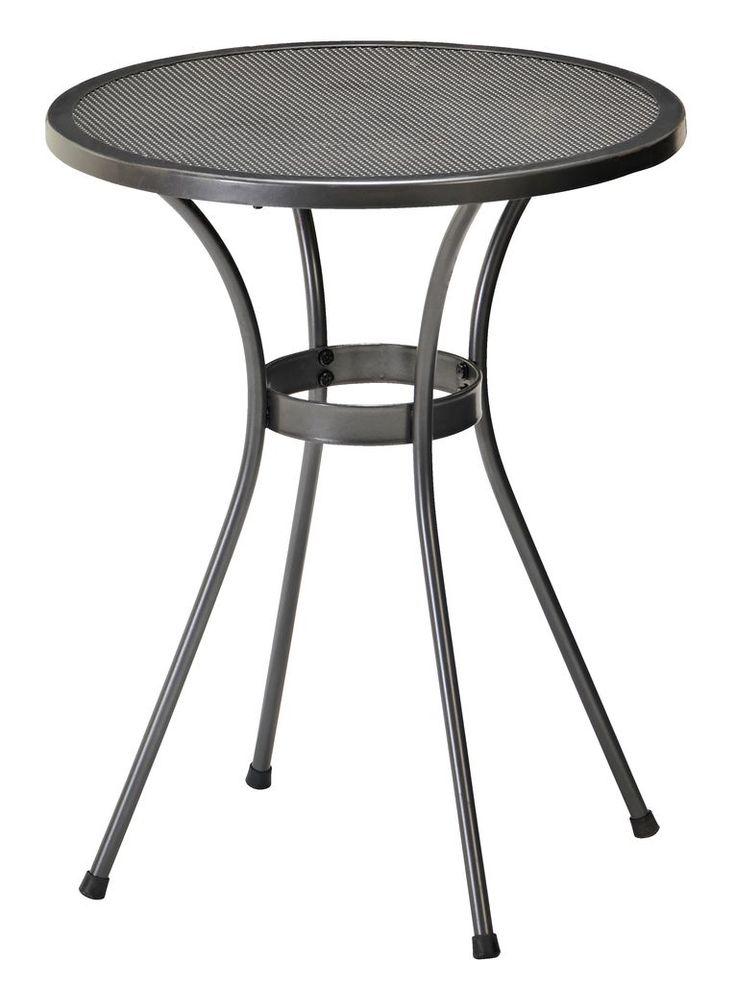 Asztal LARVIK átm60cm acél   JYSK