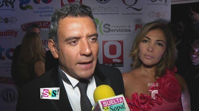 Héctor Sandarti habla de los rumores que rodean a Andrea Legarreta (VIDEO)