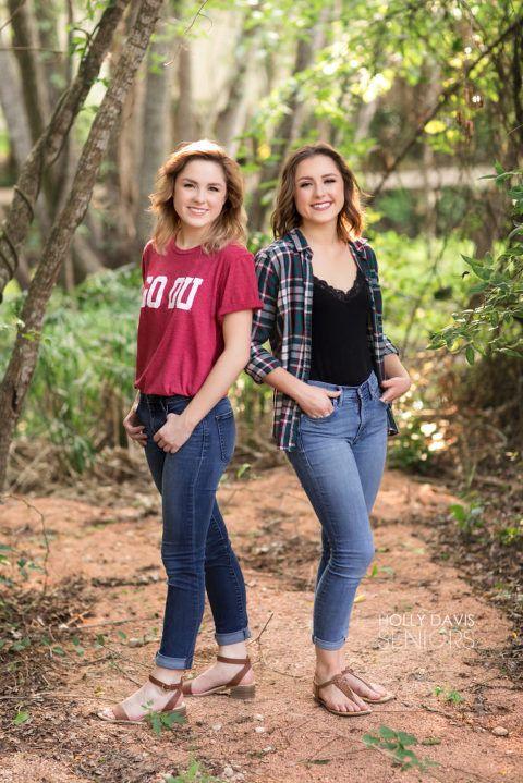 Houston Senior Pictures Of Twins, Teen Twin Posing, Twin Photo Session, Holly Davis Seniors -6124