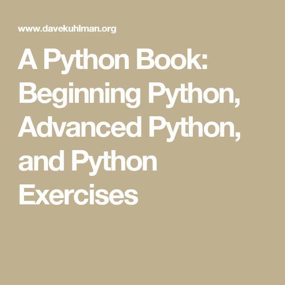 python programming exercises for beginners pdf