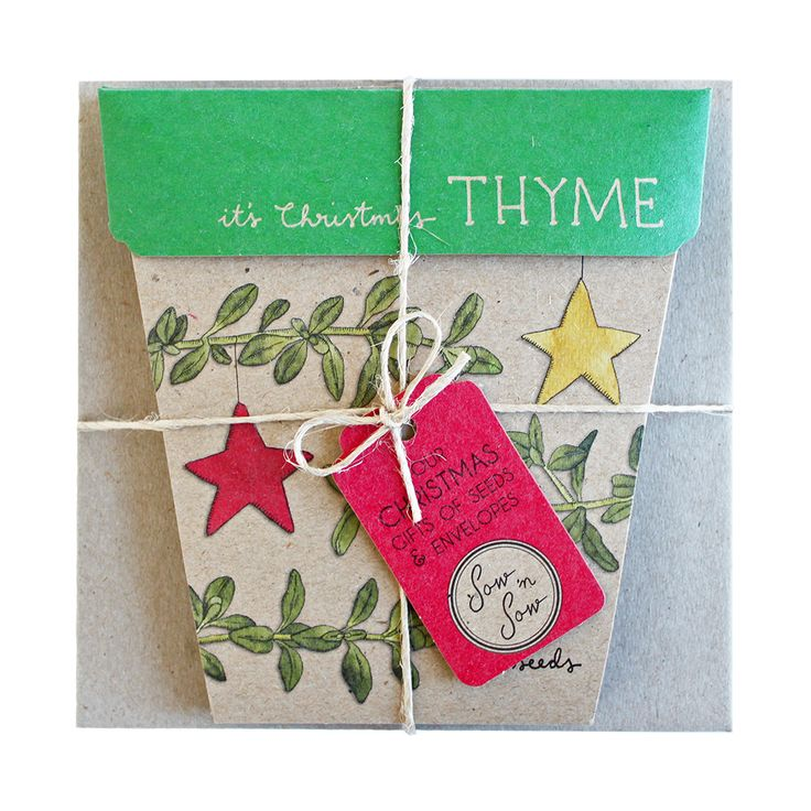Christmas Thyme Set from Sow n Sow via The Third Row