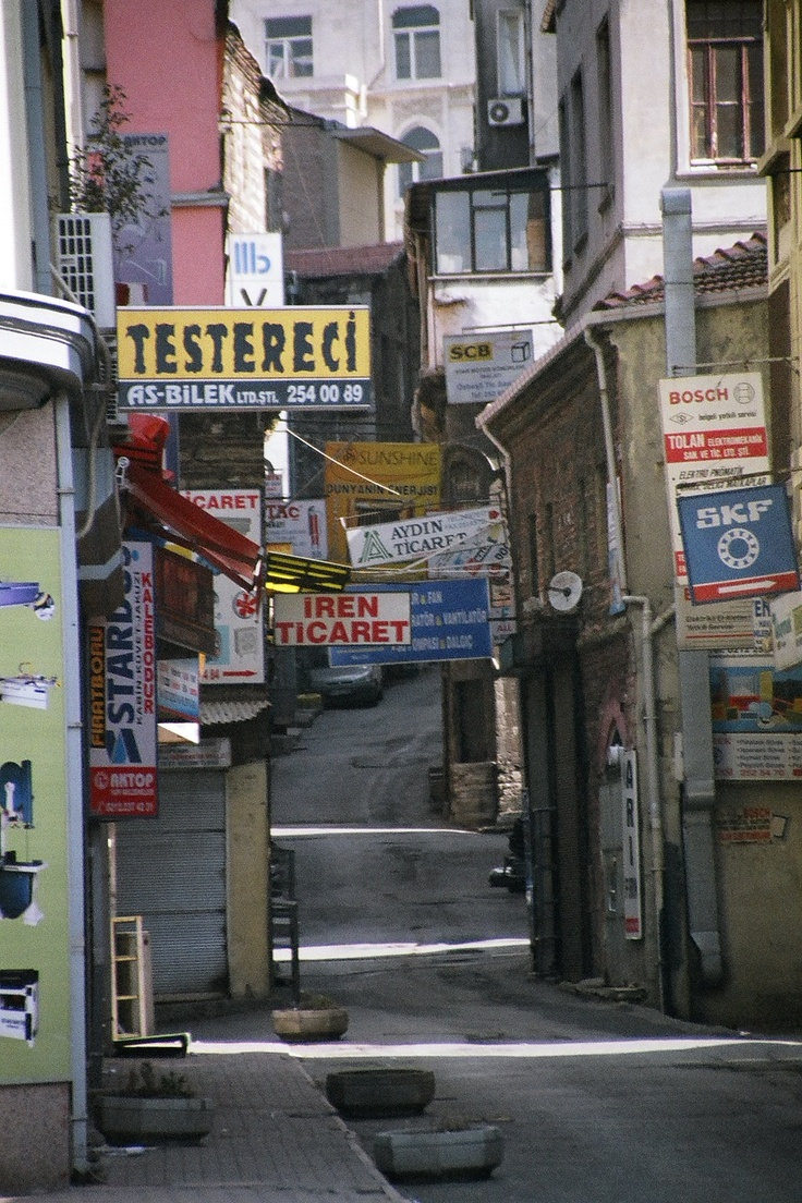 Side streets of Istanbul