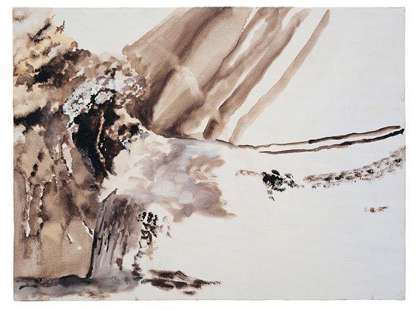 Jochen Klein Ohne Titel_1996_oil on canvas_12x16 in