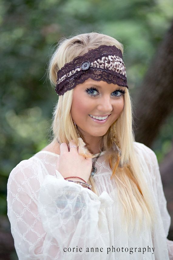 Chiffon and Lace the Perfect Match  Headband By CristaBelas' Boutique, $18.95 https://www.etsy.com/listing/160475849/chiffon-and-lace-the-perfect-match-wide?ref=shop_home_active