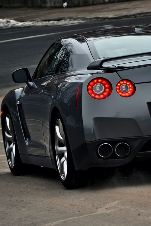 Nissan GTR. I normally don't like Nissan, but this is nice!