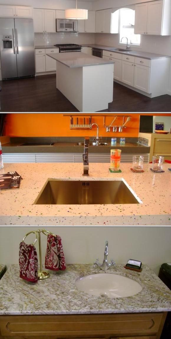After Install The Granite Counter And New Sink, The Kitchen Is Brand New  Any Customer Will Be Happy To See It.