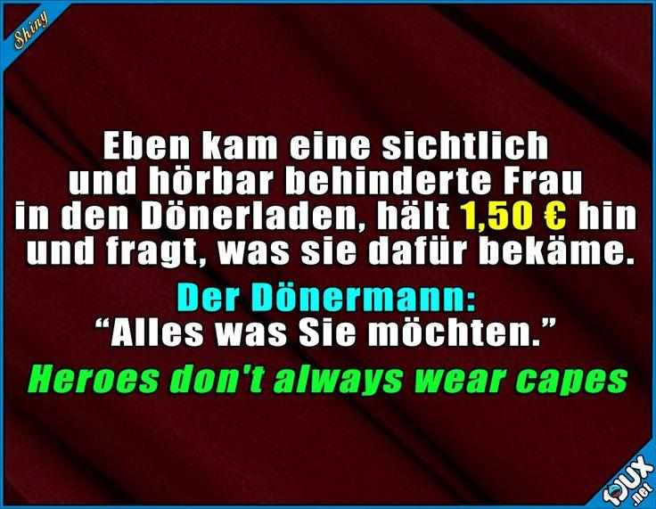 Guter Mann! :) #Hero #Held #guteTat #Jodel #Sprüche #Statussprüche #Statusbilder #lachen #lächeln