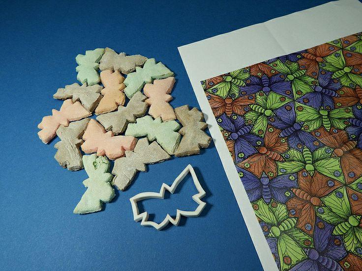 Tiling the Plane with Escher Butterflies