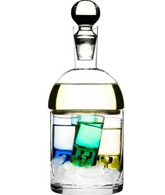 Decanter and shot-glasses for £16!