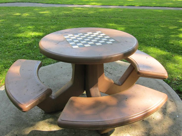 Chess Picnic Table Outdoor In 2019 Chess Table Chess