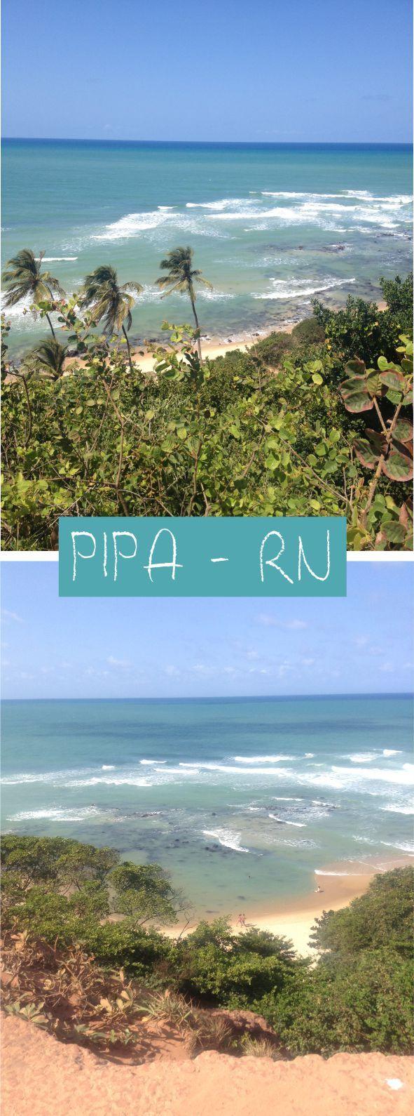 Um pouquinho de Pipa, no Rio Grande do Norte #pipa #praia #beach #brasil #brazil