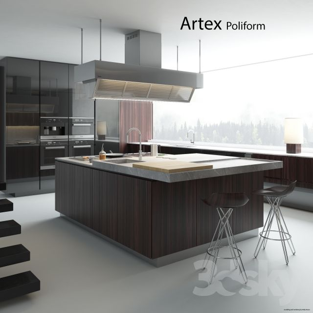 Kitchen Poliform Varenna Artex 2