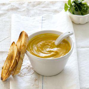 Spiced carrot soup   EAT * Soups   Pinterest