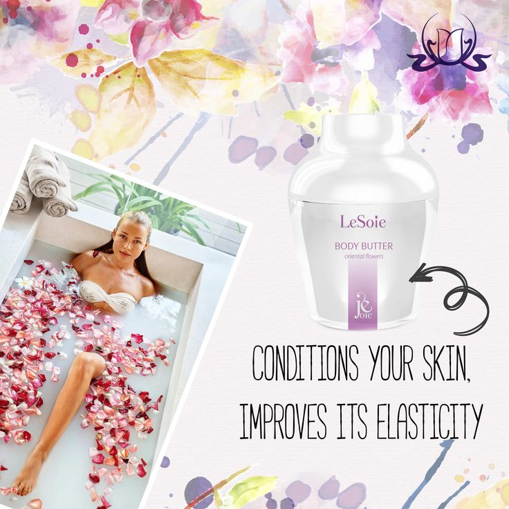 Feel great in your body!  #Oriental Flowers #BodyButter conditions your skin, improves its elasticity and makes your body look healthy and revitalized. Try this unique indulging formula :) #skincare #beauty