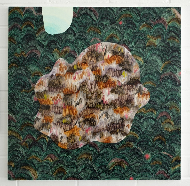 Amber Wilson, Wanderer, 2012, Oil on canvas, 600 x 600mm