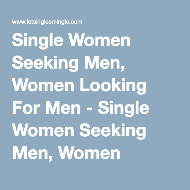 women seeking men de