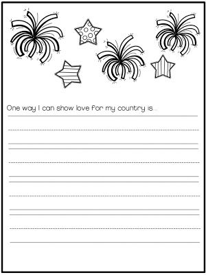 Education to the Core: Free Independence Day/4th of July Journal!