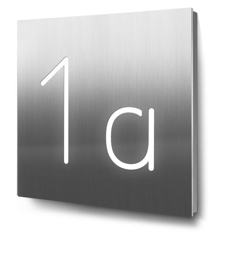 25 b sta hausnummer edelstahl id erna p pinterest. Black Bedroom Furniture Sets. Home Design Ideas