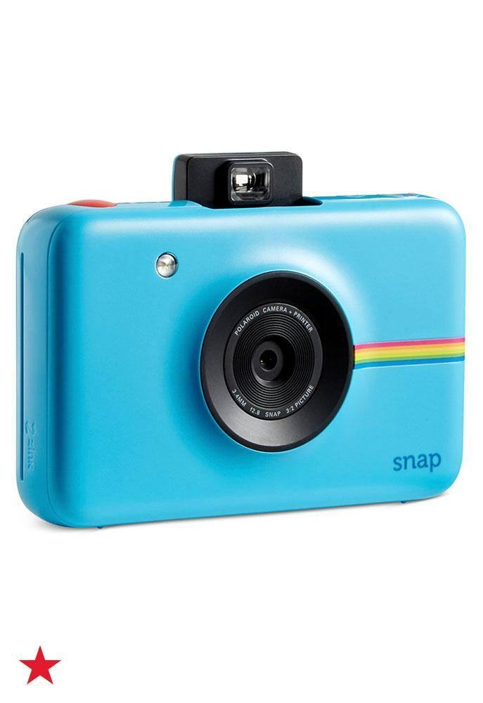 Make memories on your spring break trip and keep them forever with Polaroid's Snap Instant Digital Camera. You can snap pics with your BFFs and then print them immediately. Click to shop at Macy's.