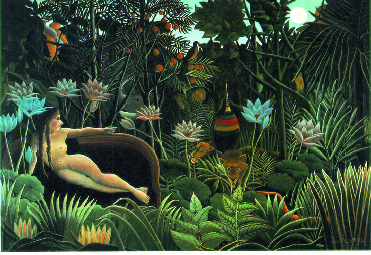 Art naïf - Henri Rousseau - Le rève