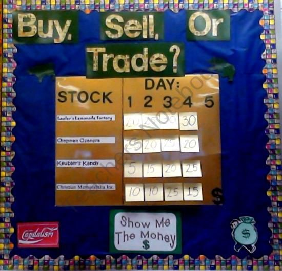 Stock Market Simulation Activity product from Joy-in-the-Journey on TeachersNotebook.com