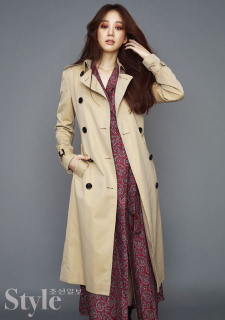 Jung Ryeo Won For Burberry In Korean Style | Couch Kimchi