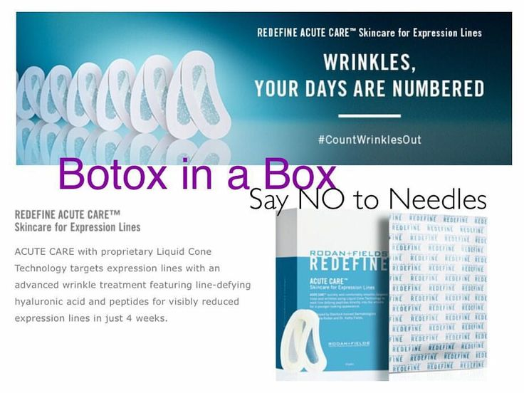 These Acute Care strips are known as Botox in a box. You could get a full box of…