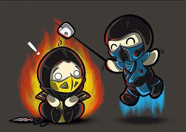 Awwe Scorpion and Sub-Zero