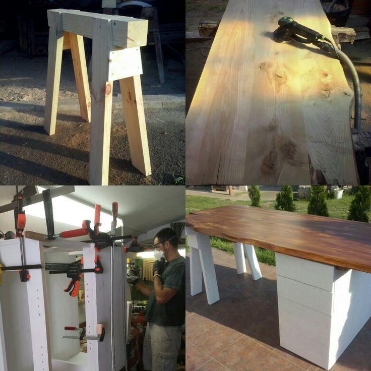 Vyroba stolu