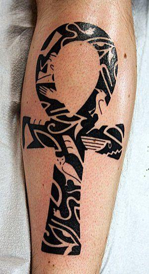 tatuajes de simbolos egipcios cruz ansada