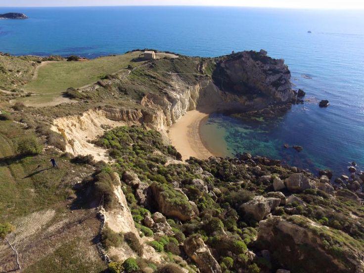 Cala Paradiso. Licata, Sicily