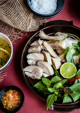 White duck and bamboo noodle soup | Rice kitchen