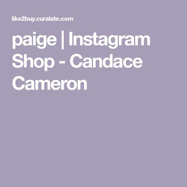 paige | Instagram Shop - Candace Cameron
