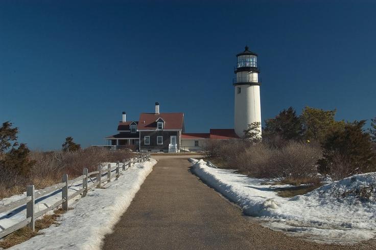Highland (Cape Cod) Lighthouse. North Truro  ...