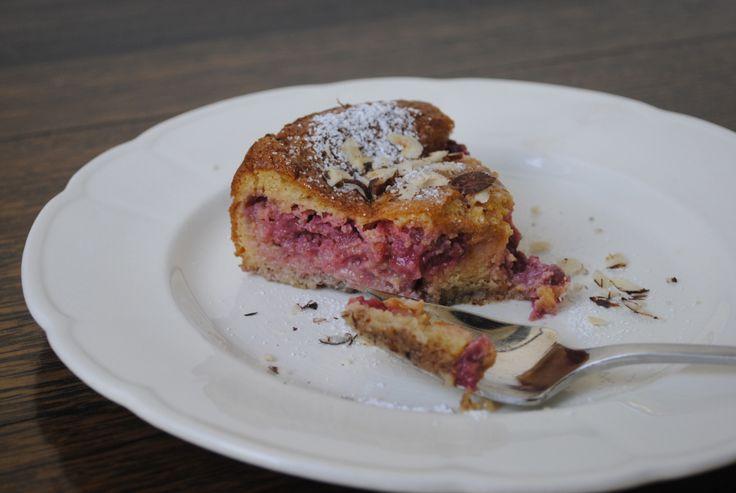 Budino di lamponi e nocciole (Raspberry and hazelnut budino)