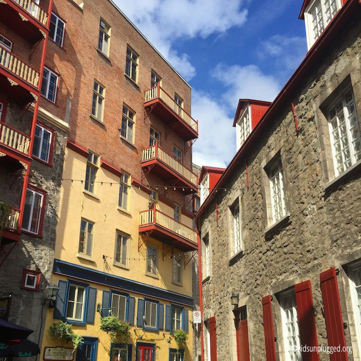 10 Things to do with Kids in Old Québec City | Kids Unplugged