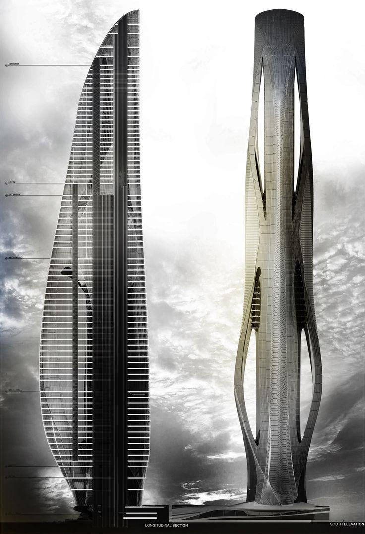 Relief Tower - DanielCaven|DESIGN