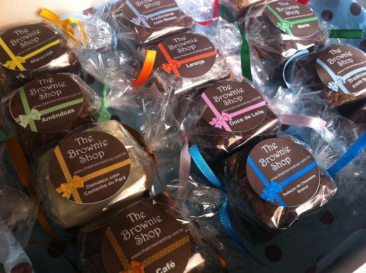 embalagens para brownie
